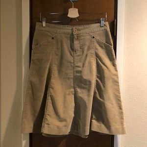 Gap corduroy skirt